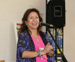 Laura Tohe, Navajo Nation Poet Laureate for 2015-2017. (Photo by DJ Craig)
