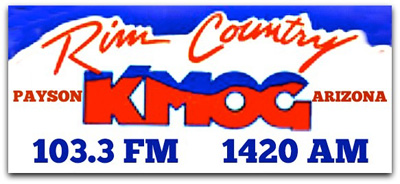 Tune into KMOG on your visit to Payson! Many thanks to our Top Shelf Sponsor.